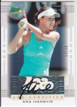 ACE ANA IVANOVIC 伊万诺维奇 网球美女签名卡 auto 35编 卡签