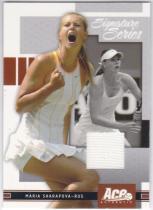 网球卡 ACE 玛利亚莎拉波娃 sharapova 球衣卡 白色