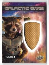 电影 漫威 Upper Deck 银河护卫队 浣熊 Rocket 实物卡 戏服