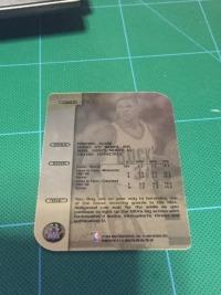 1998-99 skybox 雷阿伦 稀有 铁板卡